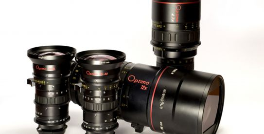 Optimo Series: gama completa de lentes para Film y Cine Digital de Thales Angenieux
