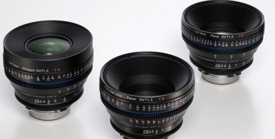Nuevas lentes Zeiss: CP.2 Super Speed 35mm - 50mm - 85/T1.5, CP.2 25/T2.1 y Compact Zoom CZ.2 28-80/T2.9