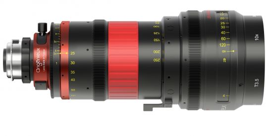 Nuevo zoom Angenieux Optimo DP 25-250
